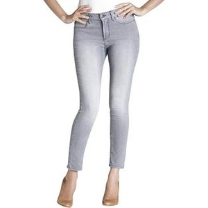 NYDJ Grey Lift Tuck Slimming Fit Ankle Jeans